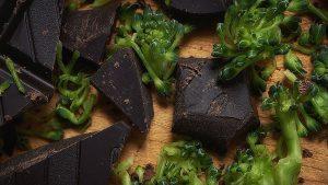 broken broccoli; broken chocolate - not broken new years promises